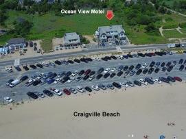 Motel & Craigville Beach Arial