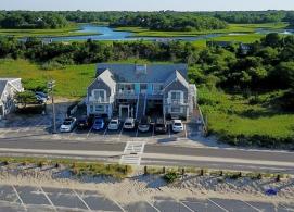 Ocean View Motel Arial